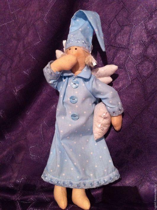 Куклы Тильды ручной работы. Ярмарка Мастеров - ручная работа. Купить Тильда Сплюшка. Handmade. Тильда, комбинированный, красота