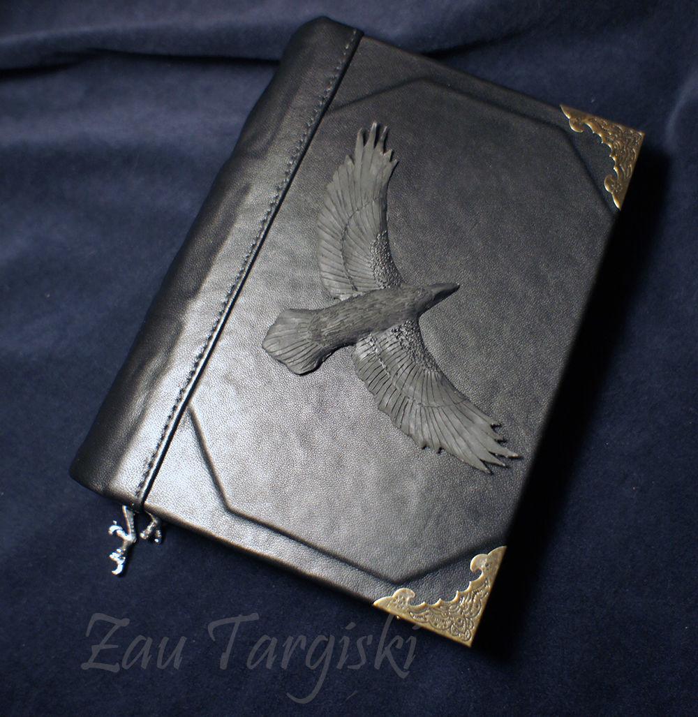 Книга теней с вороном (на заказ), Гримуар, Москва,  Фото №1