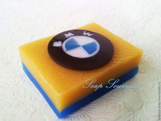 """Мыло ручной работы. Ярмарка Мастеров - ручная работа. Купить Мыло """"Логотип BMW"""". Handmade. Мыло ручной работы, мыло"""