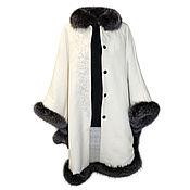 Одежда handmade. Livemaster - original item Coat with blueproton