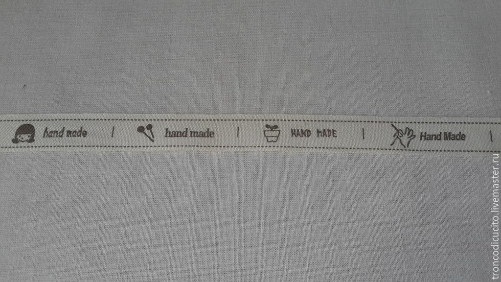 Бирка текстильная своими руками 22