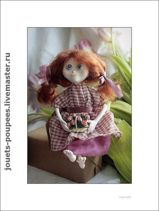 Коллекционные куклы ручной работы. Ярмарка Мастеров - ручная работа. Купить Ангел Весны. Handmade. Авторская кукла, авторская работа