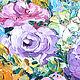 """Картины цветов ручной работы. """"Кремовые"""" цветы""""букет цветов,холст,масло,живопись мастихином. СветКартины Svetlana Samsonova. Ярмарка Мастеров."""