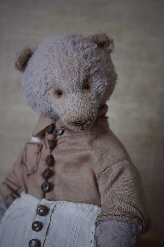 Мишки Тедди ручной работы. Ярмарка Мастеров - ручная работа. Купить Мистер. Handmade. Мишка тедди, мишка в рубашке