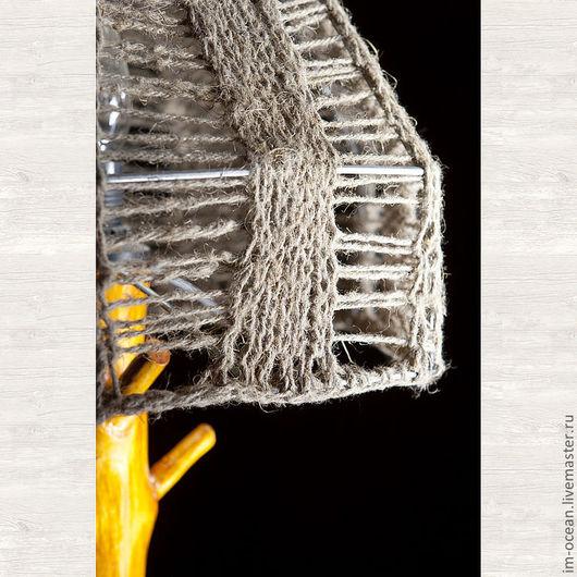 Освещение ручной работы. Ярмарка Мастеров - ручная работа. Купить Настольная лампа / ночник. Handmade. Оранжевый, светильник, свет