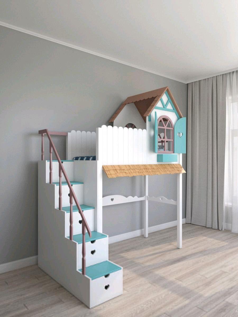 Кровать домик на заказ, Кровати, Санкт-Петербург,  Фото №1