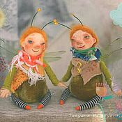 Куклы и игрушки ручной работы. Ярмарка Мастеров - ручная работа Майские мушки-букашки. Handmade.
