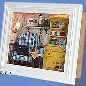 Материалы для творчества ручной работы. Ярмарка Мастеров - ручная работа Room box. Кукольный домик в наличии. Handmade.