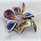 """Украшения ручной работы. Ярмарка Мастеров - ручная работа """"Viola tricolor"""" Брошь. Handmade."""