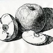 Картины и панно handmade. Livemaster - original item Pictures: Graphic work in ink