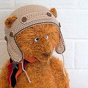 Куклы и игрушки handmade. Livemaster - original item Teddy bear Pilot Potapov (24 cm). Handmade.