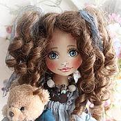 """Куклы и игрушки ручной работы. Ярмарка Мастеров - ручная работа Текстильная кукла """"Майя"""". Handmade."""