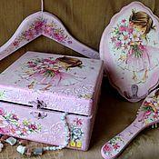 """Для дома и интерьера ручной работы. Ярмарка Мастеров - ручная работа """"Маленькая принцесса""""-комплект для девочки. Handmade."""