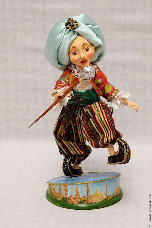 Коллекционные куклы ручной работы. Ярмарка Мастеров - ручная работа. Купить Маленький Мук авторская кукла. Handmade. Разноцветный