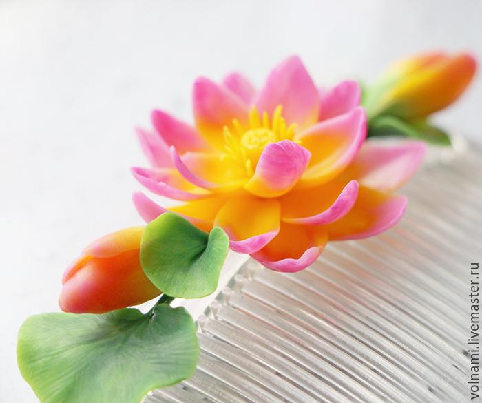 Лотос цветок сделать