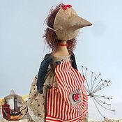 Куклы и игрушки ручной работы. Ярмарка Мастеров - ручная работа Кукла-птица. Handmade.
