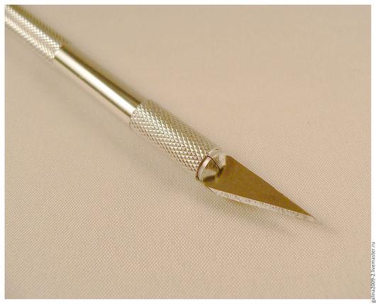 Другие виды рукоделия ручной работы. Ярмарка Мастеров - ручная работа. Купить Нож макетный + 5 запасных лезвий.. Handmade.