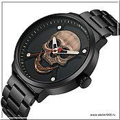 Украшения handmade. Livemaster - original item Watch with a Skull. Handmade.