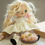 Портретная кукла ручной работы. Ярмарка Мастеров - ручная работа Кукла текстильная Адель. Handmade.