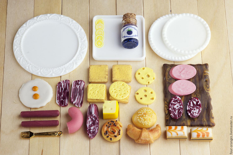 Как сделать еду для кукол настоящую 411