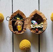 Куклы и игрушки ручной работы. Ярмарка Мастеров - ручная работа Домик в скорлупке. Handmade.