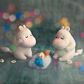 Куклы и игрушки ручной работы. Ярмарка Мастеров - ручная работа Сплюшки - три!. Handmade.