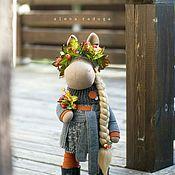 """Куклы и игрушки ручной работы. Ярмарка Мастеров - ручная работа """"ДЭВУШКА ОСЕНЬ"""" .... Handmade."""