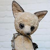 Куклы и игрушки ручной работы. Ярмарка Мастеров - ручная работа Белая Лиса ЛаЛа. Handmade.