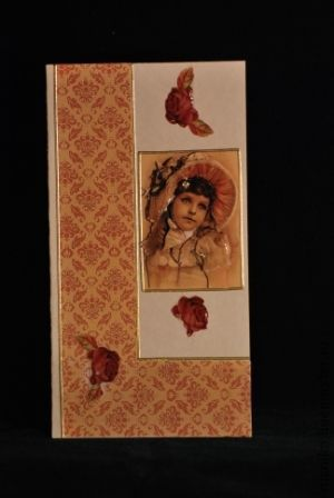 Открытки для женщин, ручной работы. Ярмарка Мастеров - ручная работа. Купить открытка Девушка в шляпке. Handmade. Открытка винтажная