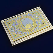 handmade. Livemaster - original item Business card holder. Handmade.