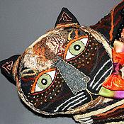 Для дома и интерьера ручной работы. Ярмарка Мастеров - ручная работа Кот Матисс. Handmade.