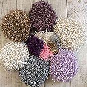 Тычинки ручной работы. Ярмарка Мастеров - ручная работа Тычинки для цветов. Handmade.