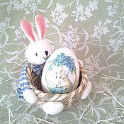 Подарки к праздникам ручной работы. Ярмарка Мастеров - ручная работа Деревянное яйцо–матрешка «Пасхальное». Handmade.