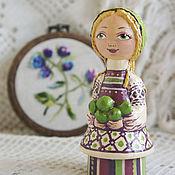 handmade. Livemaster - original item Lisa. Wooden interior doll. Souvenir doll.. Handmade.