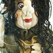 """Куклы и игрушки ручной работы. Ярмарка Мастеров - ручная работа """"Гламурная Баба-яга"""". Handmade."""