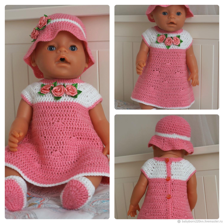 Платье для куклы Babyborn, Одежда для кукол, Нижний Новгород,  Фото №1