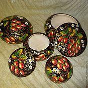 Для дома и интерьера handmade. Livemaster - original item Boxes, cedar Strawberry jam. Handmade.