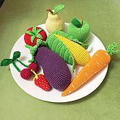 Куклы и игрушки ручной работы. Ярмарка Мастеров - ручная работа Овощи, фрукты и прочие продукты :). Handmade.