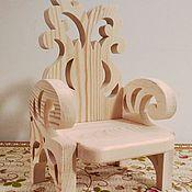 Куклы и игрушки handmade. Livemaster - original item Chair big