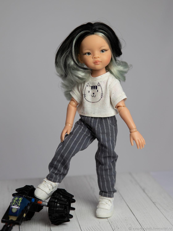 Джинсы, свитшоты, футболки для Паол, Одежда для кукол, Кострома,  Фото №1