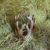 """Украшения ручной работы. Ярмарка Мастеров - ручная работа Кольцо """"Король леса"""". Handmade."""