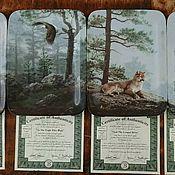 Винтаж handmade. Livemaster - original item Porcelain panel.Harmony of nature.Bradford Exchange.England.. Handmade.