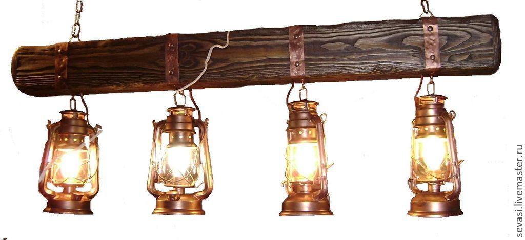 Светильники своими руками из керосинки