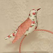 Куклы и игрушки ручной работы. Ярмарка Мастеров - ручная работа Ободки-птички №2. Handmade.