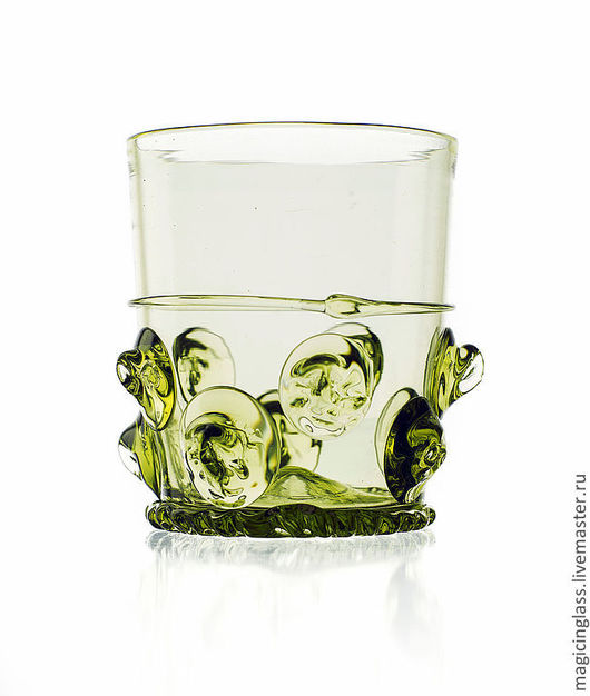 Бокалы, стаканы ручной работы. Ярмарка Мастеров - ручная работа. Купить Коллекционное историческое стекло. Стакан № 44.. Handmade.