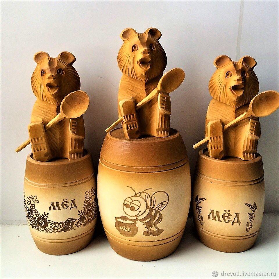 Картинка бочонок меда для мишки
