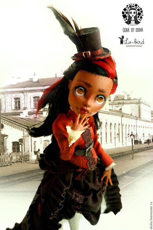 Коллекционные куклы ручной работы. Ярмарка Мастеров - ручная работа. Купить ООАК Робекка Стим Monster High. Handmade. Кукла
