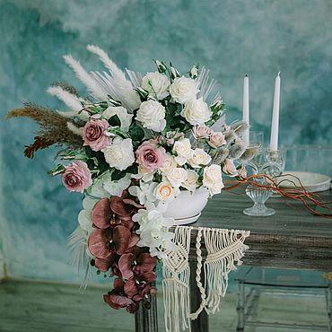 Свадебный салон ручной работы. Ярмарка Мастеров - ручная работа Настольная композиция. Handmade.
