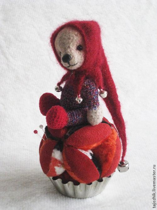 Мишки Тедди ручной работы. Ярмарка Мастеров - ручная работа. Купить Мишка-арлекин. Handmade. Мишка, татьяна борисова