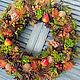 Interior wreath 'Mood'. Wreaths. Zuli. Online shopping on My Livemaster.  Фото №2